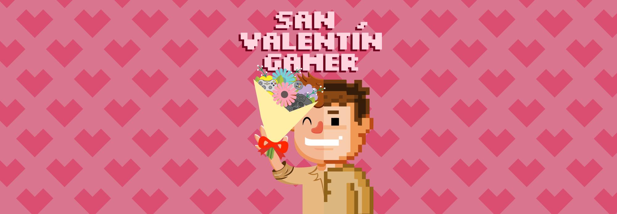 san valentín gamer