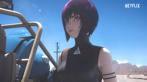 ghost in the shell netflix serie
