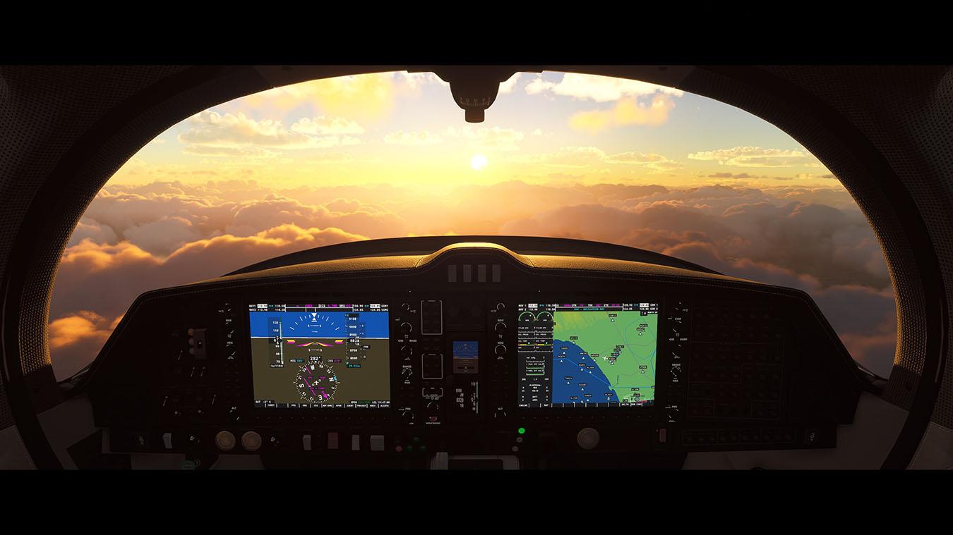 simulador de vuelo pc
