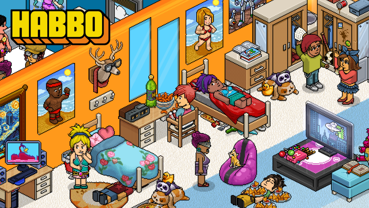 habbo ha vuelto a ser popular