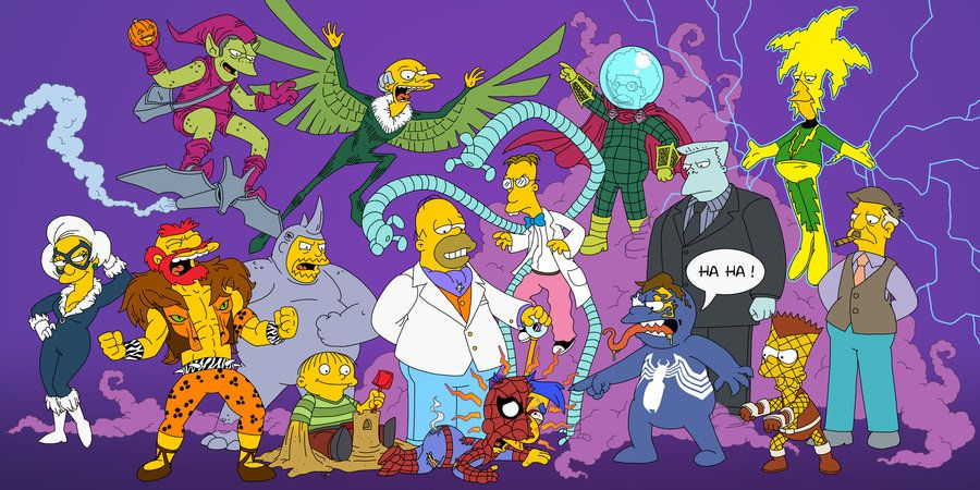 los simpson spiderman
