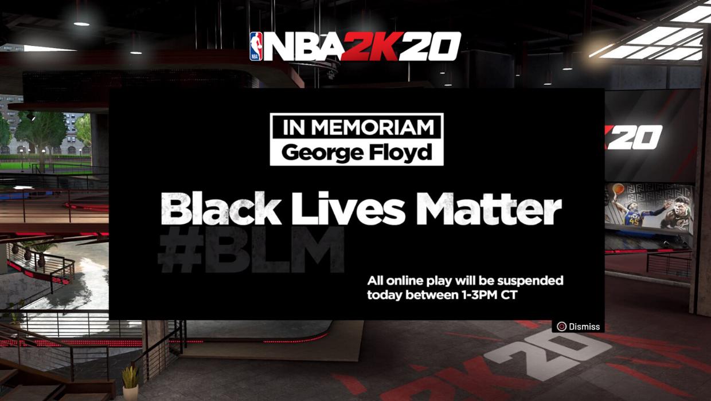 nba2k20 black lives matter