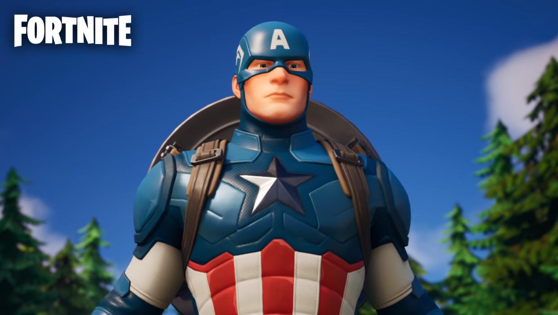 skin capitan america fortnite