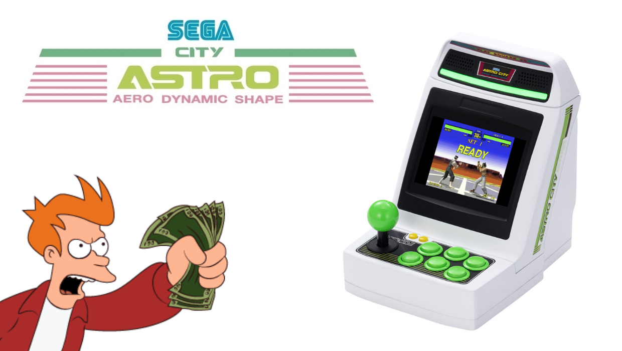 sega astro city mini
